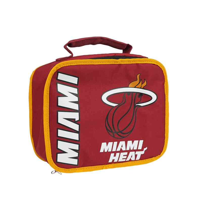 C11NBA42C600014RTL: NBA Heat Lunchbox Sacked